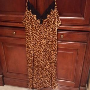 Leopard print nightie